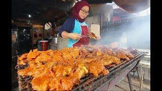 Worlds BEST BBQ CHICKEN | Street Food in Malaysia  RARE Kuala Terengganu STREET FOOD Guide!