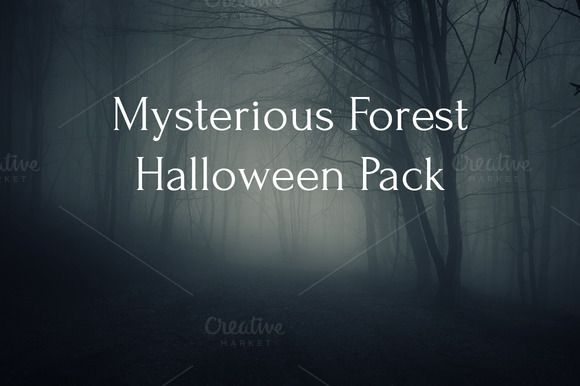 Free photo pack ... Mysterious forest Halloween Pack by PhotoCosma on @creativemarket ... https://crmrkt.com/8DMM2