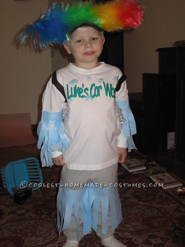 easy costume idea car wash this website is the pinterest of costumes - Cheap Home Made Halloween Costumes
