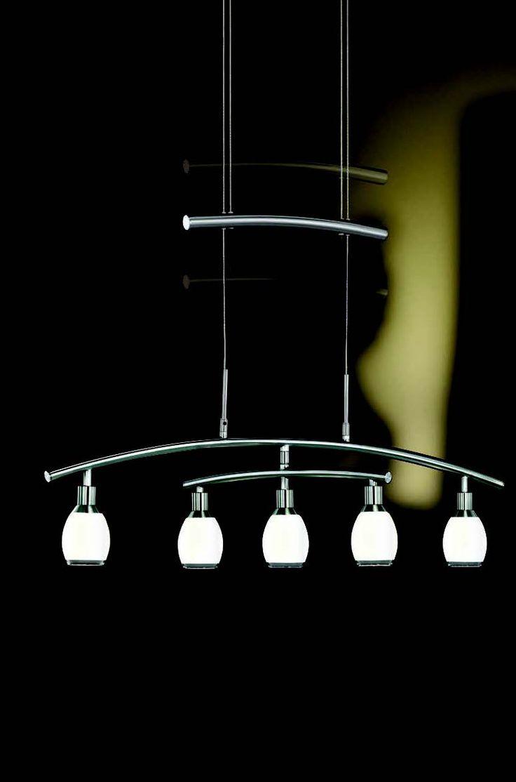 Lustr LED  WOFI WO 7886.05.64.0000 (ATLANTA) Lustr, plnící vyjma funkce centrálního osvětlení i funkci zajímavého interiérového doplňku  #design, #consumer, #functional, #lustry, #chandelier, #chandeliers, #light, #lighting, #pendants #světlo #svítidlo #wofi #lustr #led
