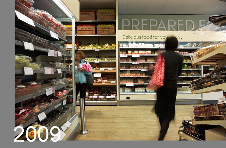 Little Waitrose - branding, communication and store design in collaboration with Schweitzer and Household