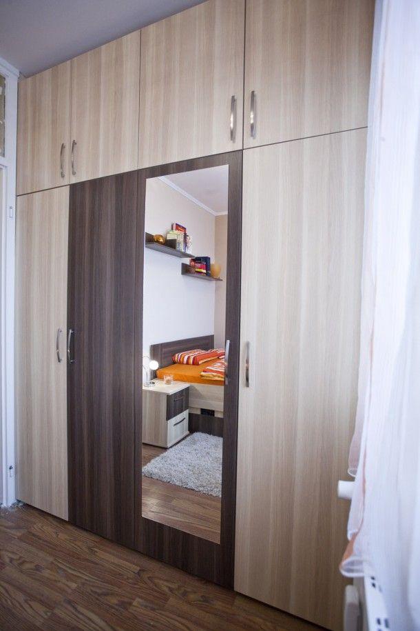 Panelszépségversenyen nyert első díjat ez a XV. kerületi lakás, amelyet huszonéves tulajdonosa alakított ki. A 35 négyzetméteres otthon nemcsak takaros, de takarékos is lett, ráadásul tágasabbnak tűnik, mint papíron.