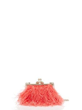 madison flamingo clasp clutch by kate spade new york