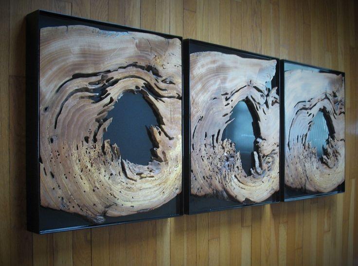 Virginia Birchfield Interiors - Gallery - Hollow wood sculpture
