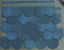Hangzhou Manufacturer For Fish Scale Asphalt Roof Shingles Blue