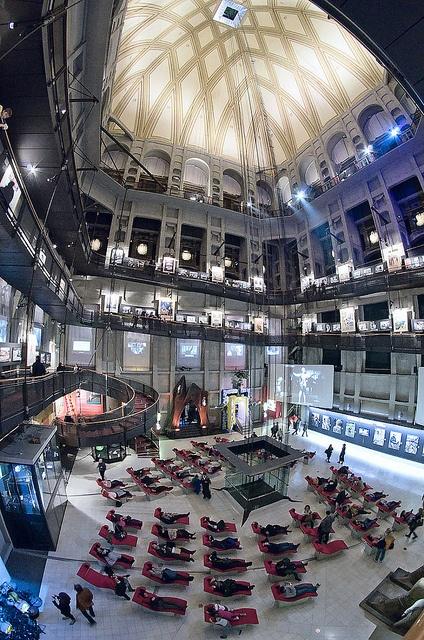 Museo del Cinema alla Mole Antonelliana. Bel Sogno!
