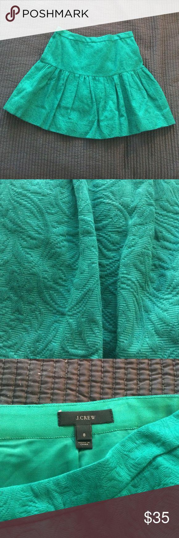 Selling this Jacquard Fit-and-Flare Mini Skirt on Poshmark! My username is: michellebarsa. #shopmycloset #poshmark #fashion #shopping #style #forsale #J. Crew #Dresses & Skirts