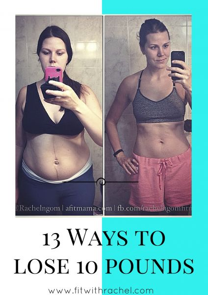 13 Ways to Lose 10 Pounds