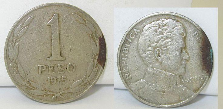 COIN 1975 REPUBLIZA DE CHILE 1 PECO