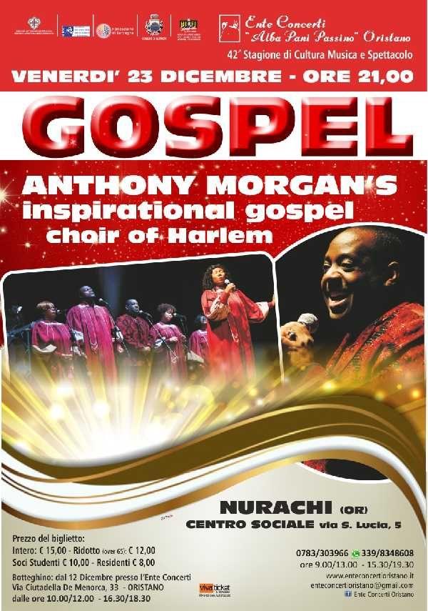 ANTHONY MORGANS  Inspirational gospel choir