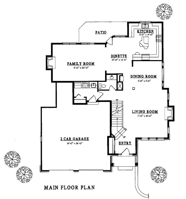 mansion floor plans free floor plan of country traditional house plan 93114 20527