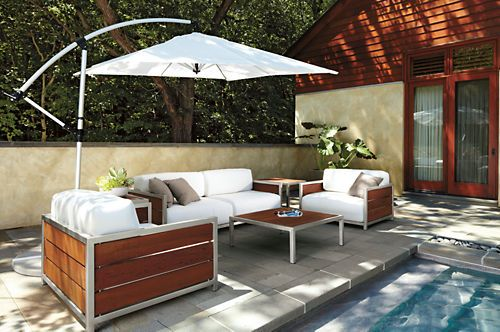 32 Best Images About Outdoor On Pinterest Sectional Sofas Outdoor Rooms And Grey Table