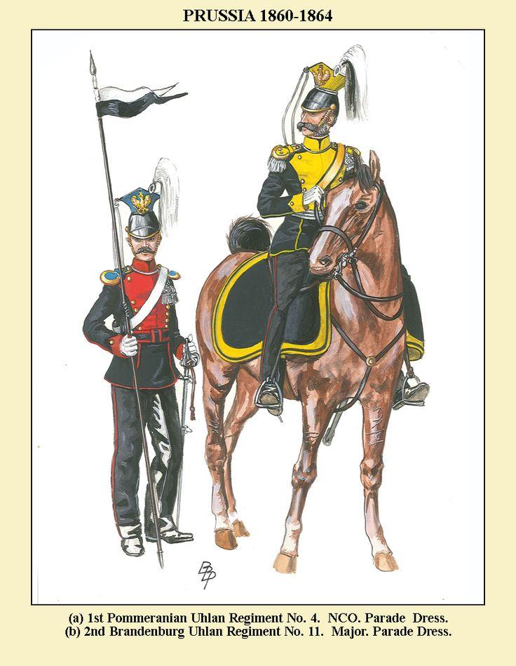 Prussian Uhlans (Lancers) 1860-67