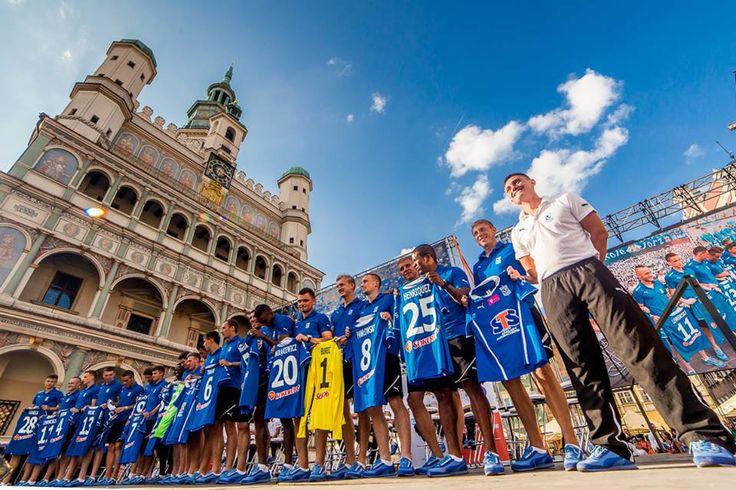 Lech Poznań- prezentacja drużyny na sezon 2013/2014 ... byłam tam dzisiaj. źródło:Facebook