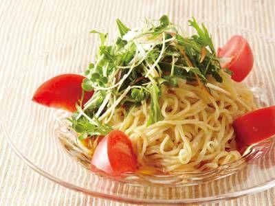 野菜たっぷり冷やし中華 by 吉田 勝彦