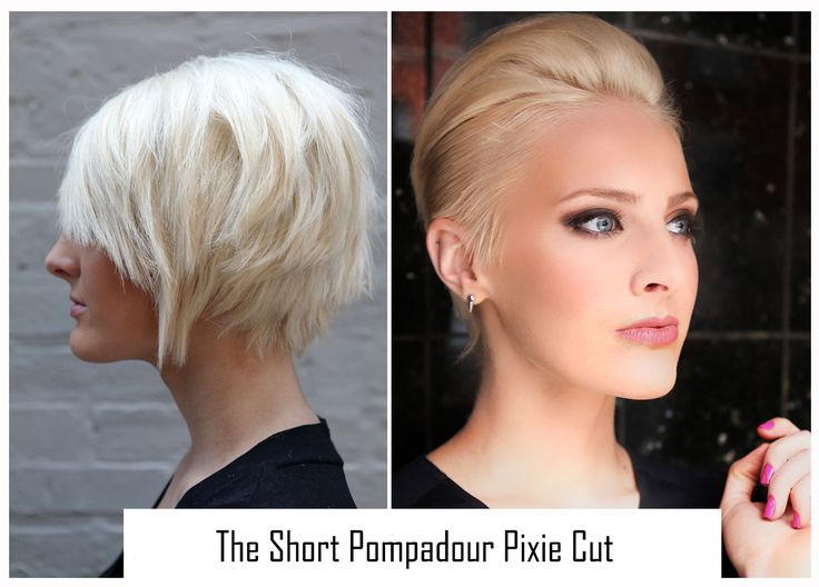 We're not taking credit for what's been perfected, just making it a little easier for your client's to rock their short pompadour pixie cut.