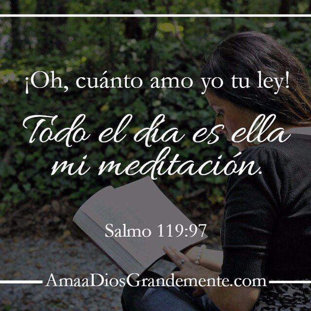 Salmo 119:97 #AmaaDiosGrandemente #Salmo119 #Salmos #versodiario #vidacristiana…