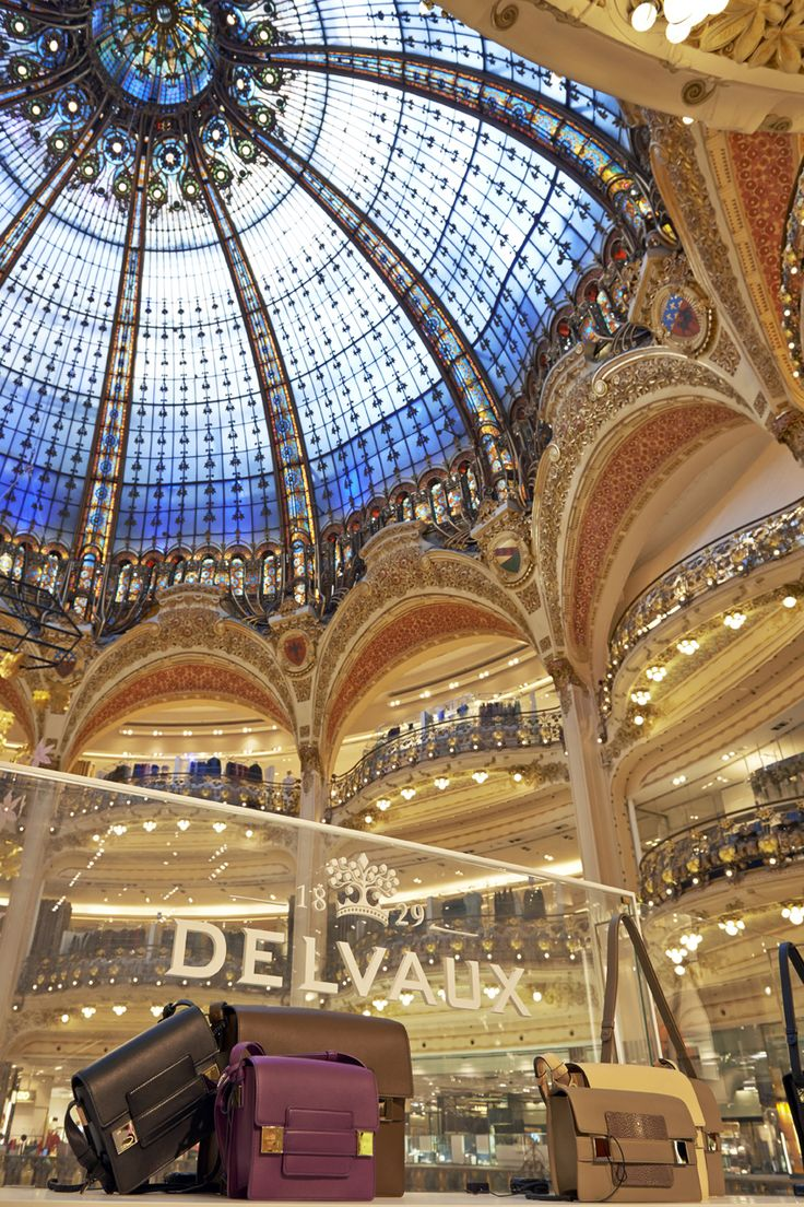 Delvaux Madame bags @Galeries Lafayette in Paris