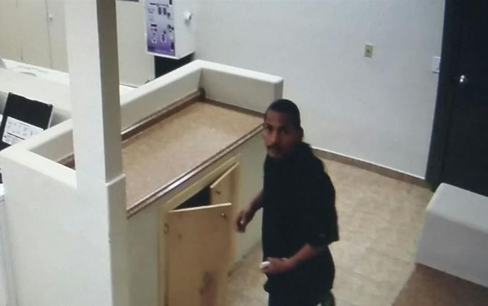 Surveillance photo of the person of interest (Source: Pima County Sheriff's Department)
