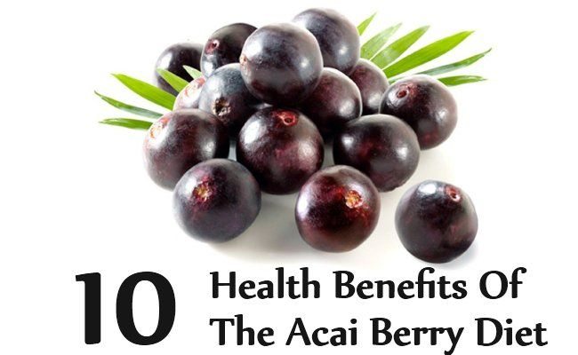 The powerful benefits of acai berry