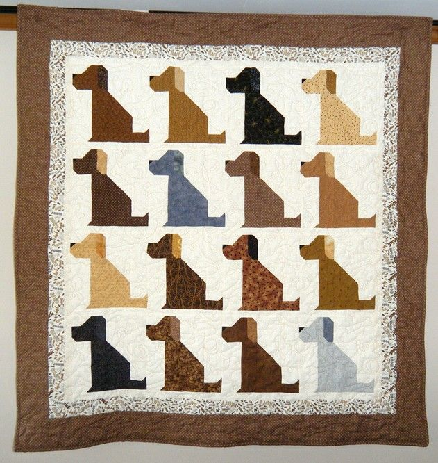 A dog quilt must make!