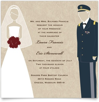 Military Wedding Invitations correctly perfect ideas for your invitation layout