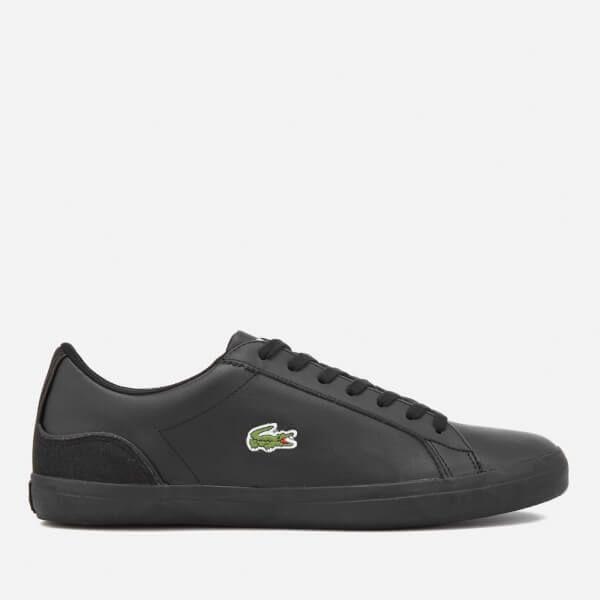 Order Lacoste Ampthill TBR Leather Chukka Boots Black Mens Footwear Shop Mens Footwear COLOUR-black