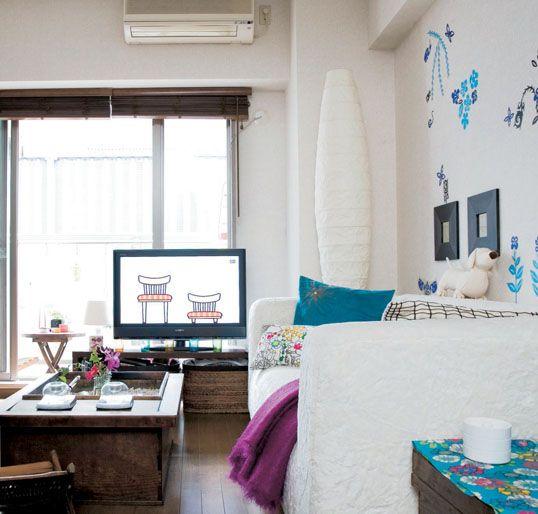 Small Interior Design Of a 30 Square Meter Apartment In Tokyo