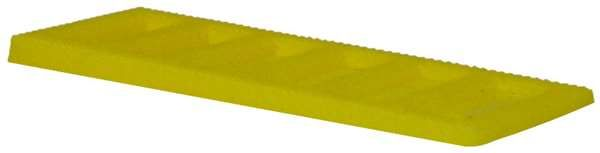 Interlocking Tapered Wedge 2-4mm Yellow - fixings - wedges and packers - Interlocking Tapered Wedge 2-4mm Yellow - Timber, Tool and Hardware Merchants established in 1933