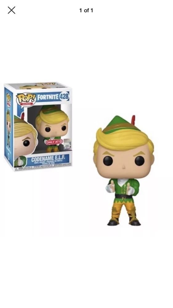 Funko Pop Fortnite Codename Elf Target Exclusive Battleroyale