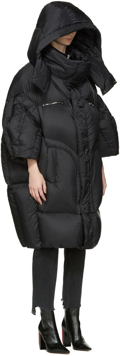 What oversized puffer jackets styles are IN this season? Like anything great in life the bigger the better. #lol The puffers of look like fluffy colourful marshmallows, so big they can fit 3 people in there, and are usually worn low on the back, or just one shoulder a la late 80s New Kids On The Block.
