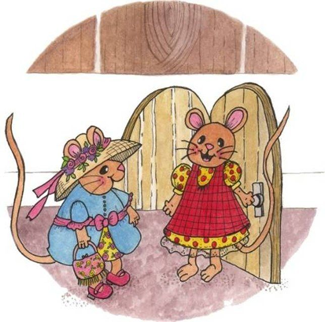 Town Mouse, Country Mouse..... ideas if you want to create ...