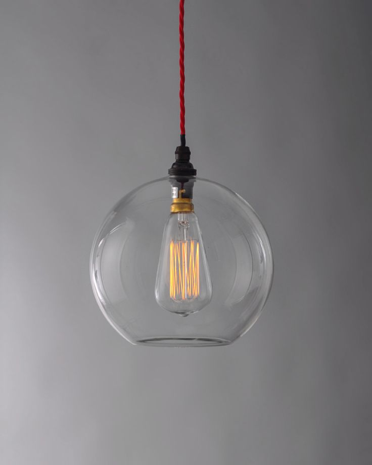 Hereford Clear Glass Globe Pendant Light                                                                                                                                                                                 More