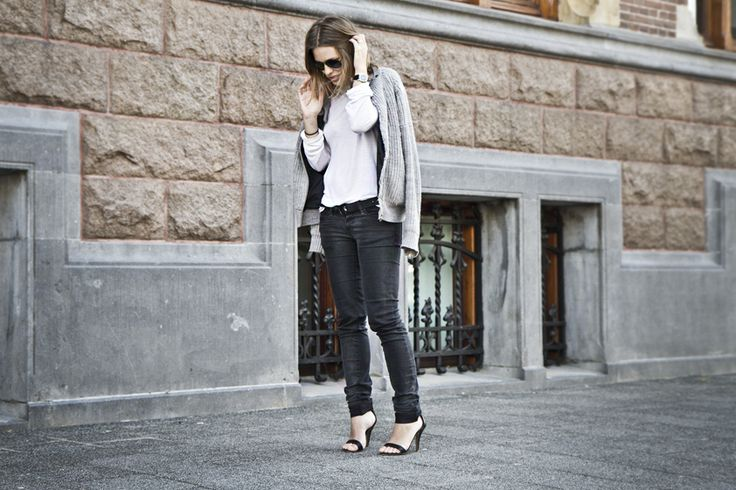 20120518 | @afterDRK: Denim Jeans, Grey Knits, Pure Style, Dr. Denim, Alexander Wang, Grey Bi, Black Jeans, Outfits Afterdrk, Inspiration Style