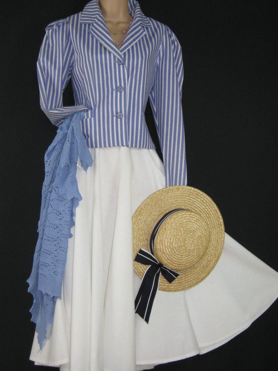 LAURA ASHLEY Vintage Henley Regatta Seaside by VINTAGELAURAASHLEY