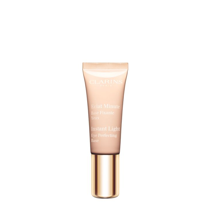 Instant Light Eye Perfecting Base - <strong>Extends the wear of eye shadow and energizes the look of eyes.</strong>  A universal half-make-up, half-skin care base enriched with oat polyoses to smooth, brighten and even out the eyelids while extending make-up wear.