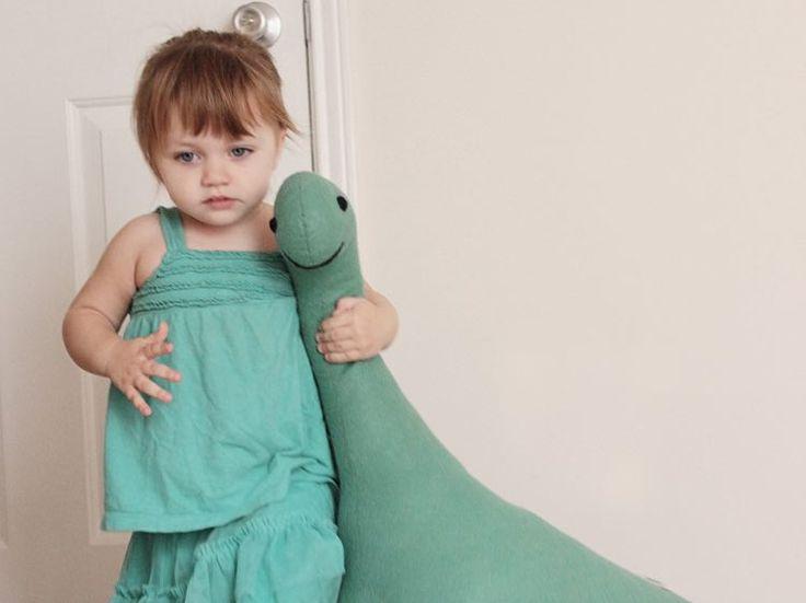 Tutoriel DIY: #Coudre la peluche #Nessie via DaWanda.com