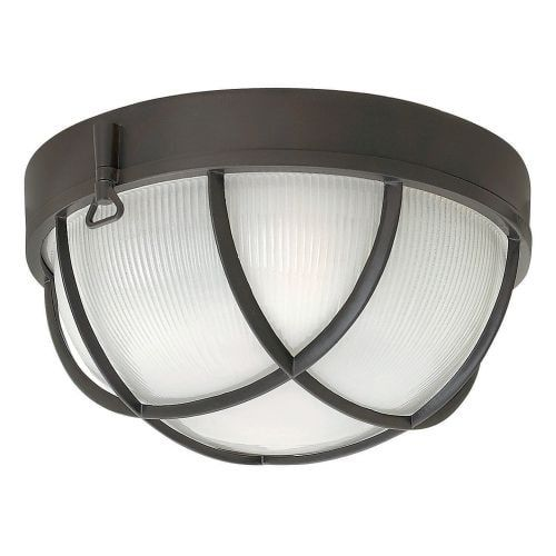 Hinkley Lighting 2413 2 Light Outdoor Flush Mount Ceiling Fixture From the Marina Collection