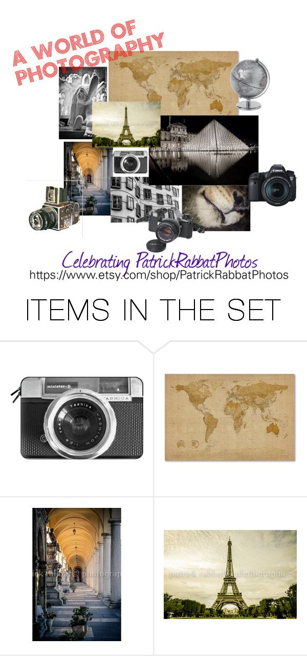 """A World of Photography"" by artbymarionette ❤ liked on Polyvore featuring art, etsy, EtsySpecialT and crazy4etsy"