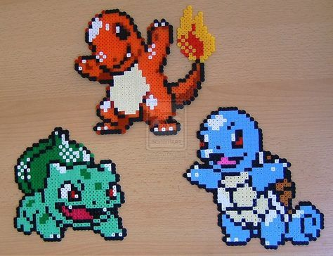 Pokemon sprite bead 4 by Chiki012 on deviantART