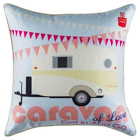 Caravan Cushion 50x50cm   Freedom Furniture and Homewares