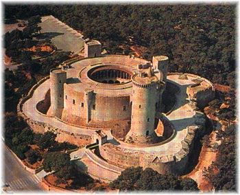 Castell de Bellver. Ancient Fortress and now one of the most popular monuments in Mallorca