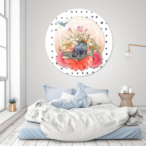 Discover «ANIMAL PYRAMID», Limited Edition Disk Print by Gloria  Sánchez - From 95€ - Curioos
