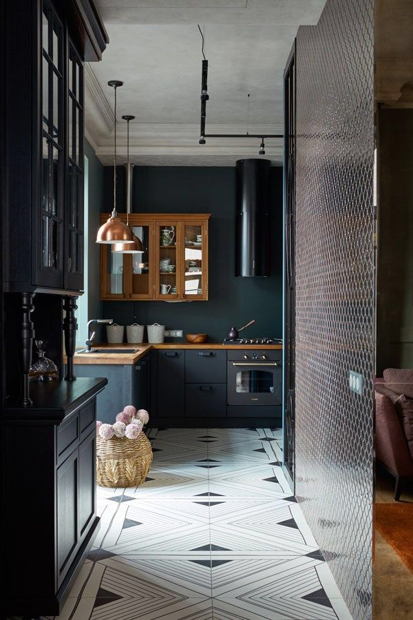 Love the geometric floor