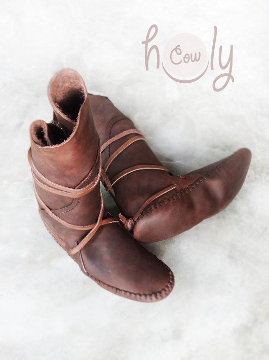 100% Handmade Leather Brown Crazy Horse by HolyCowproducts on Etsy