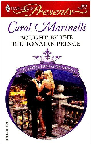 Carol Marinelli - Bought by the Billionaire Prince