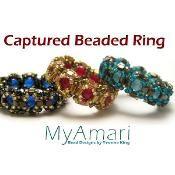 RAW Captured Bead Ring Tutorial