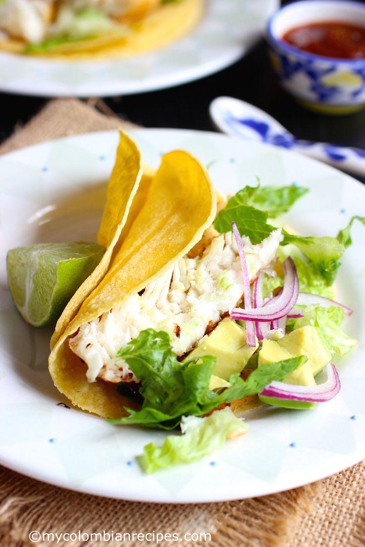 Tilapia Fish Tacos (Tacos de Tilapia)