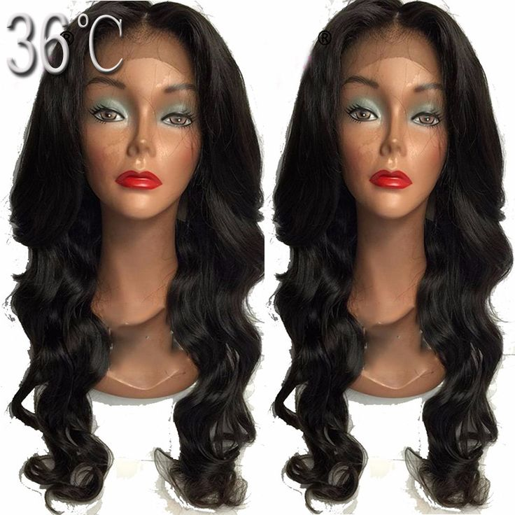 full lace wig body wave Virgin Malaysian Human Hair wavy Full lace wig/Glueless Lace Front Wigs With Baby Hair Free shipping