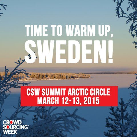 CROWDSOURCING WEEK Did you know that in the exotic remoteness of the Arctic Circle, there's a unique community living on the next edge of sustainable development and crowdsourcing?  March 12-13 we're holding an amazing 2-day summit right there in Arctic Circle of Sweden for an experiential understanding of communities powered by collaboration and the crowd. #‎CSWArcticCircle‬   Learn more about it: http://crwdwk.com/Arctic2015